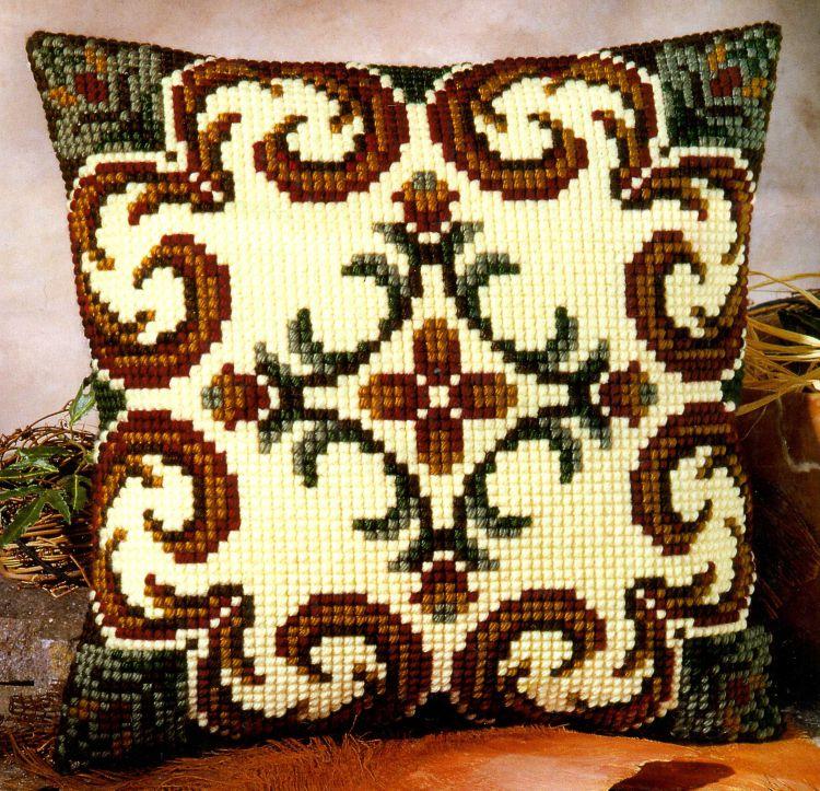 Узоры для подушки крестиком