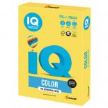 Бумага IQ color, А4, 120 г/м2, 250 л., интенсив, канареечно-желтая, CY39