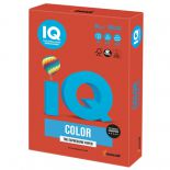 Бумага IQ color, А3, 80 г/м2, 500 л., интенсив кораллово-красная, CO44